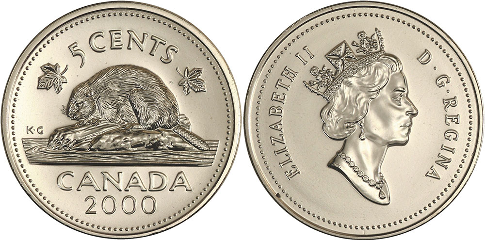Canadian 5 Coin April 2019