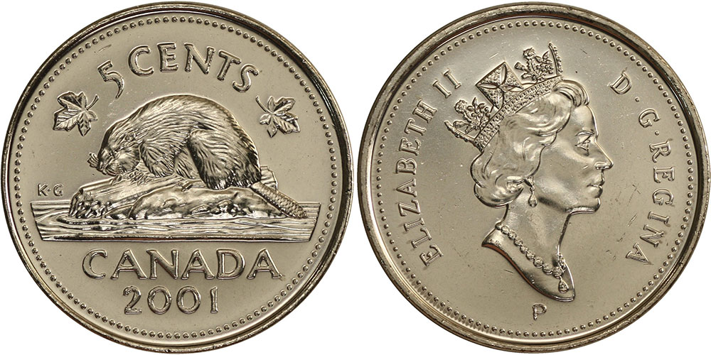 5 cents 2001