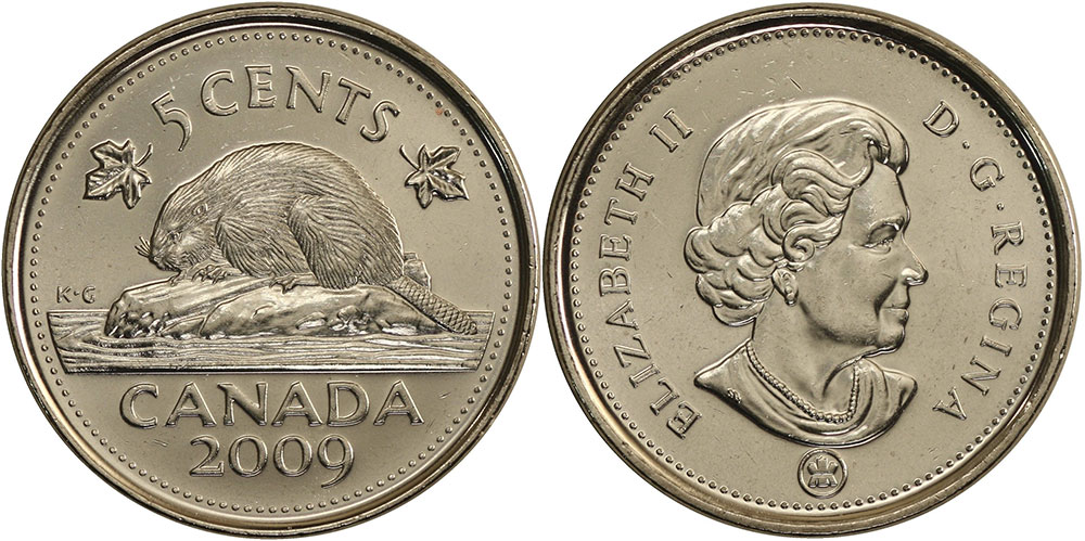5 cents 2009
