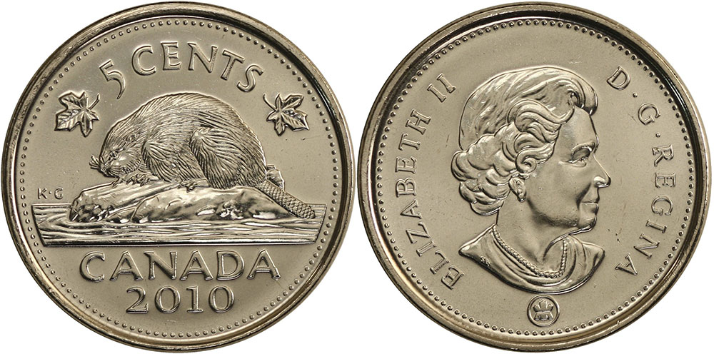 5 cents 2010