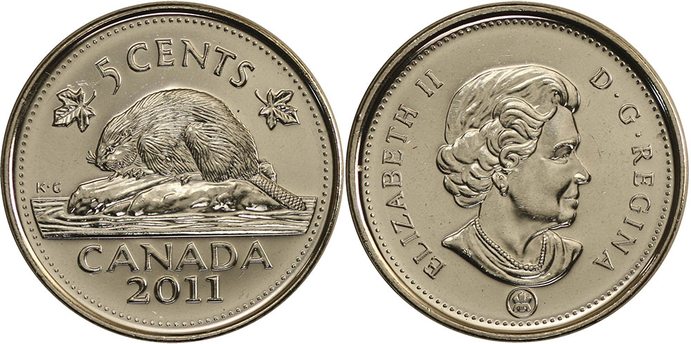 5 cents 2011