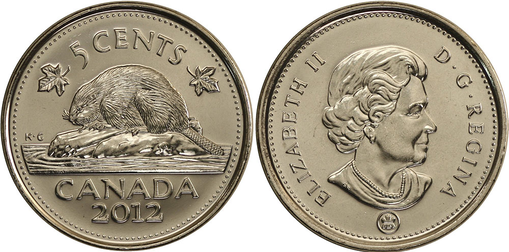 5 cents 2012