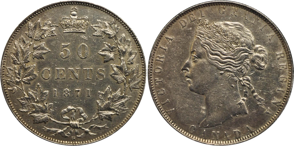 50 cents 1871