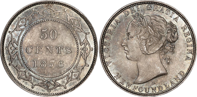 50 cents 1876 - Newfoundland