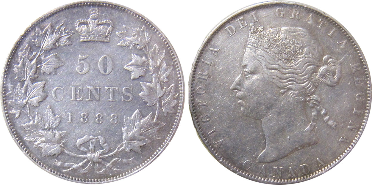 50 cents 1890