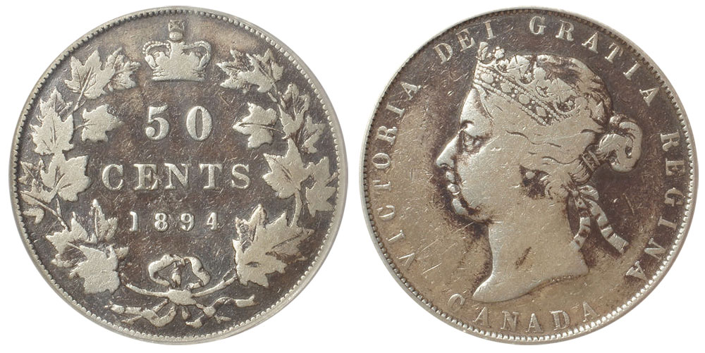 50 cents 1894