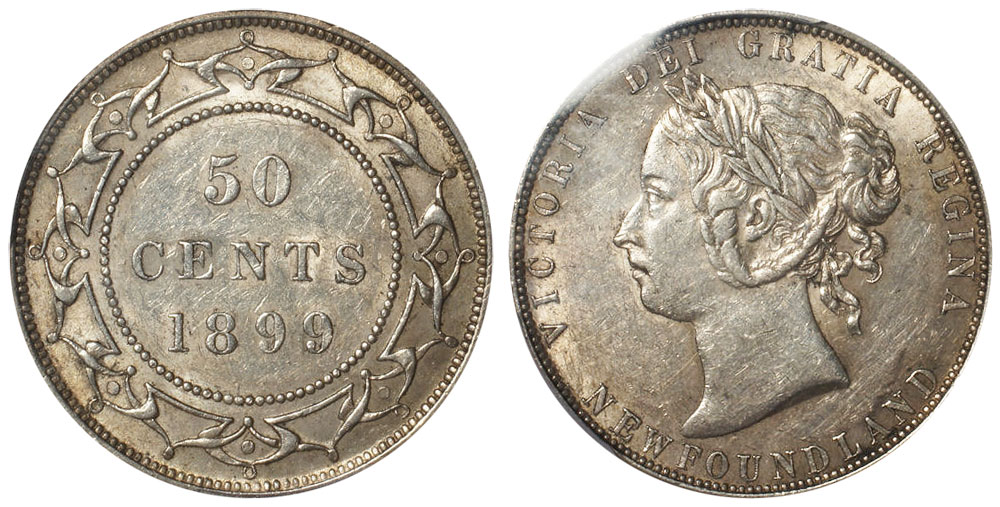50 cents 1899 - Newfoundland