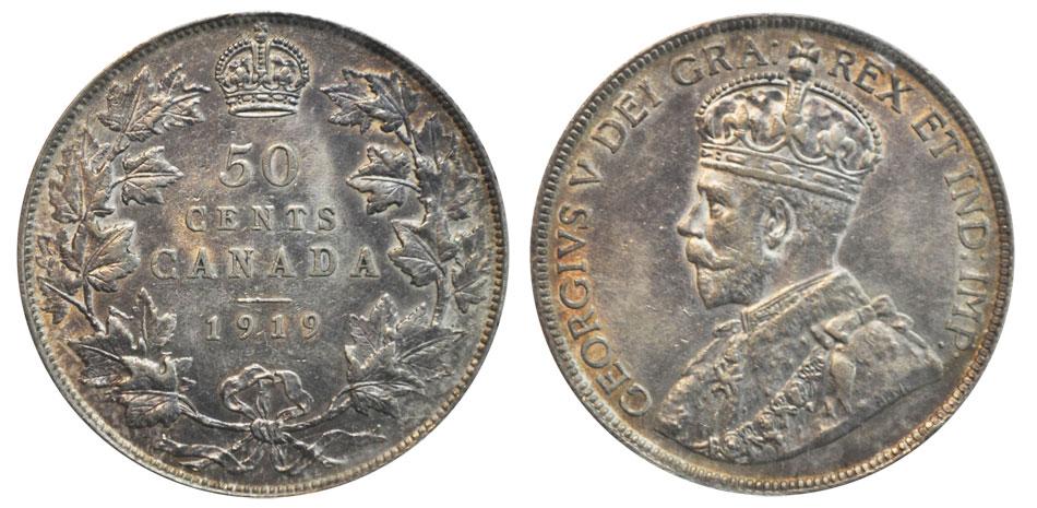 newfoundland 50 cent coin