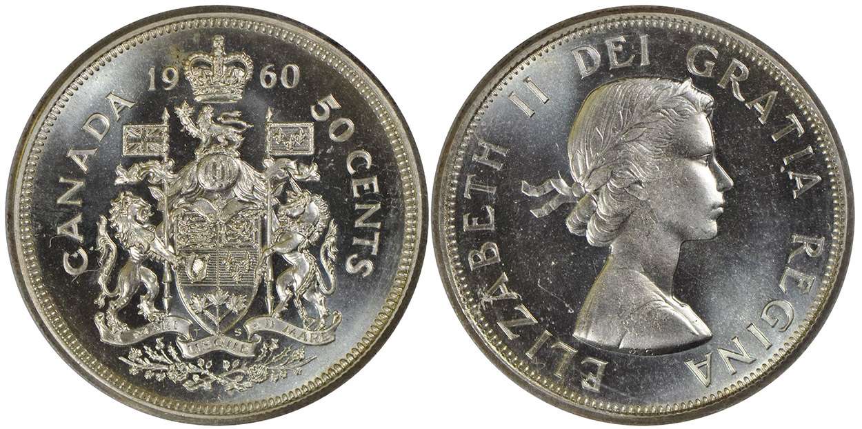 50 cents 1960