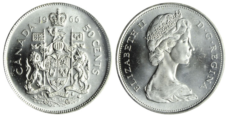 50 cents 1966