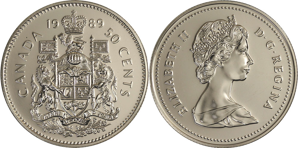 1989 Canadian Dollar Coin Value April 2019