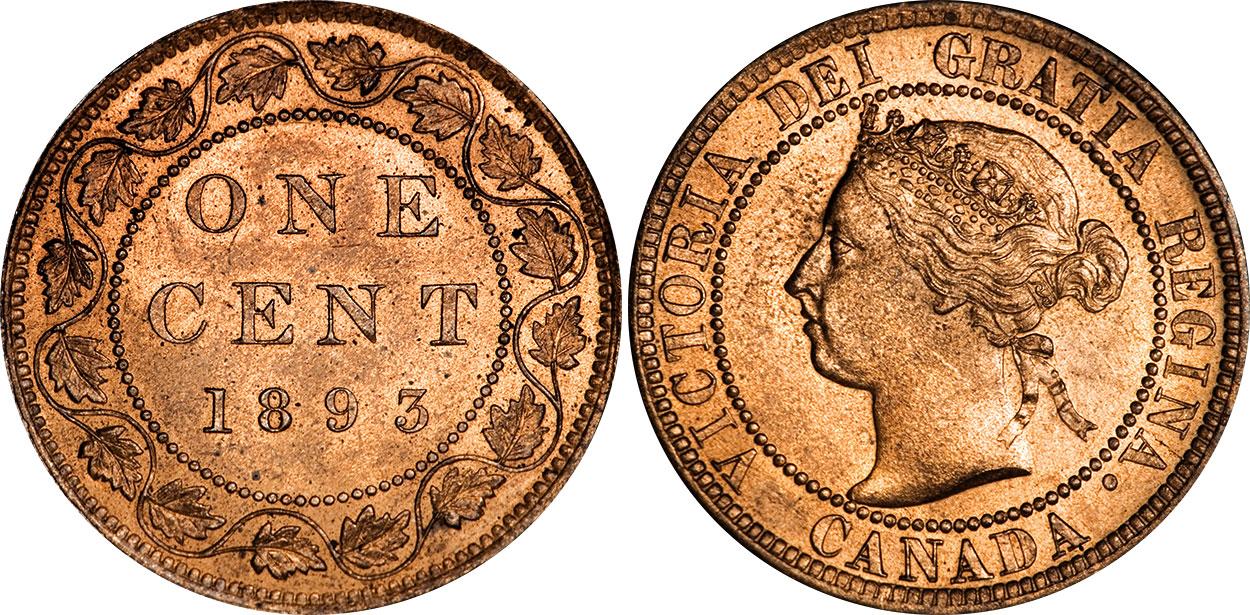 1 cent 1893