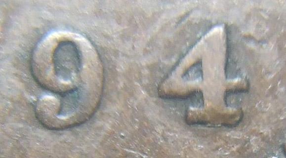 1 cent 1894 - Large 4