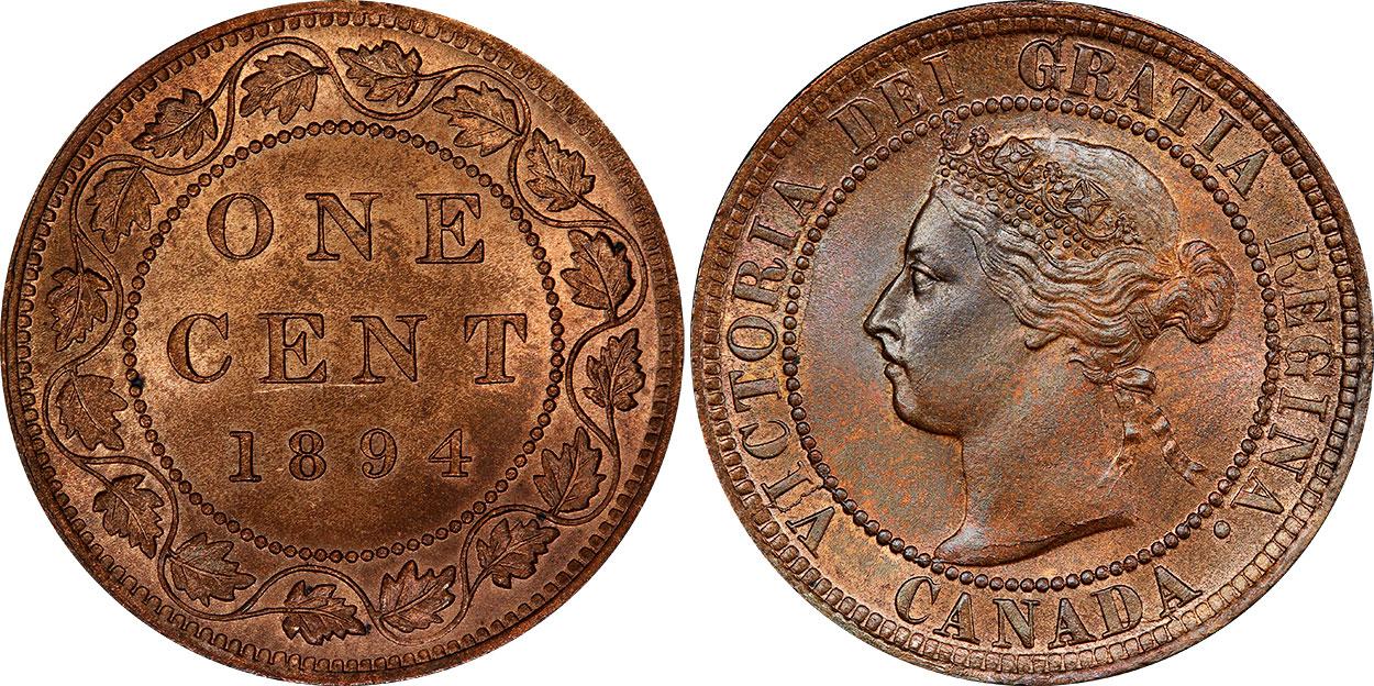 1 cent 1894