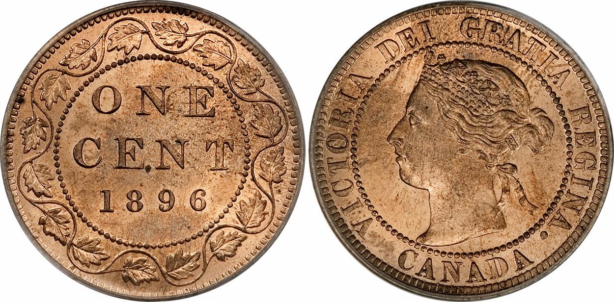 1 cent 1896
