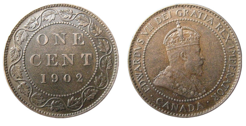 1 cent 1902