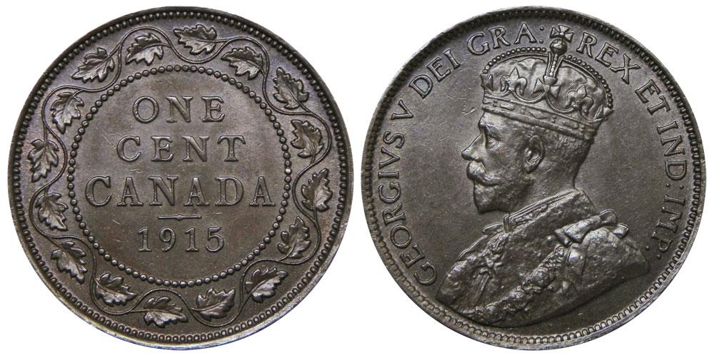 1 cent 1915