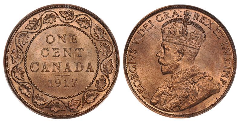 1 cent 1917