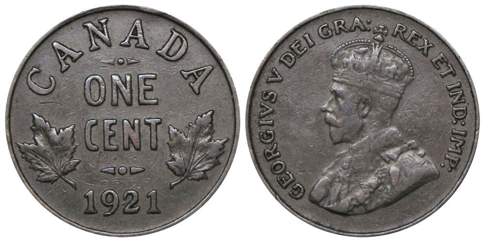 1 cent 1921
