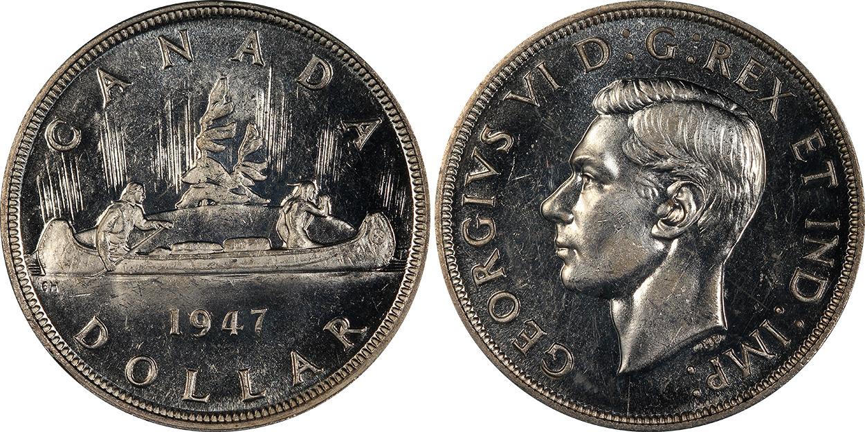 1 dollar 1947