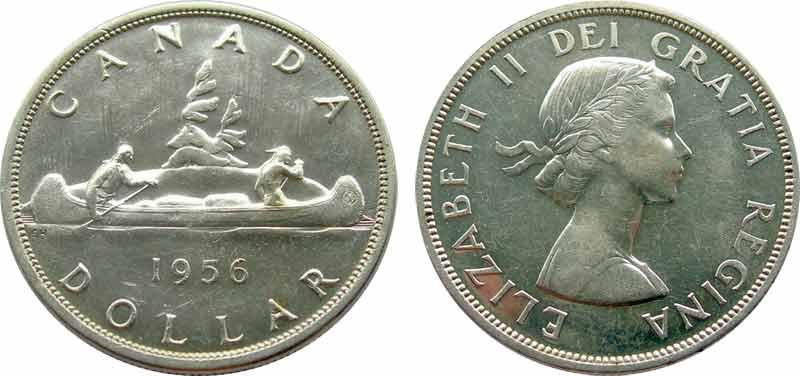 1 dollar 1956