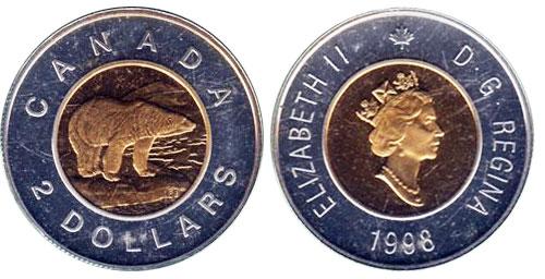 2 dollars 1998