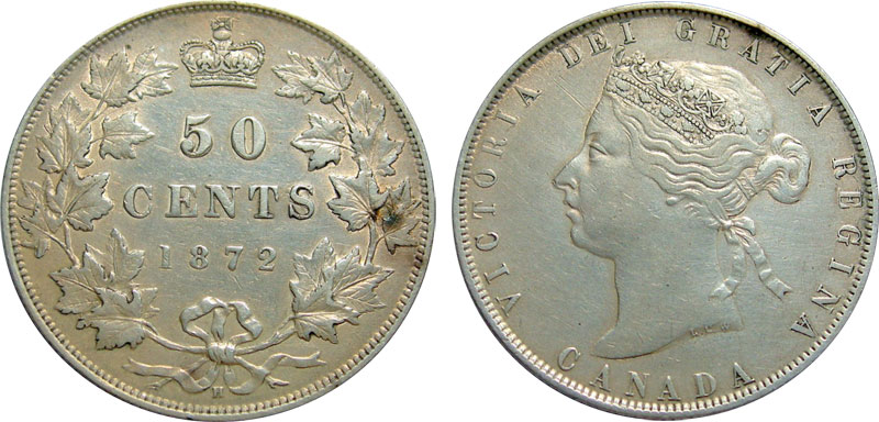 50 cents 1872