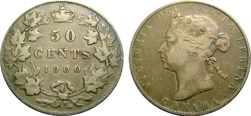50 cents 1901
