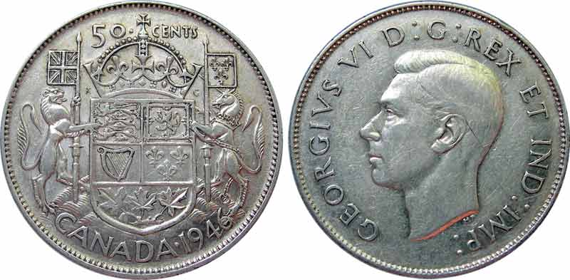 50 cents 1946