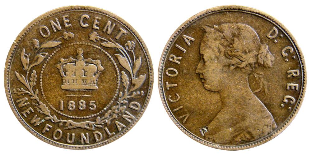 1 cent 1888 - Newfoundland