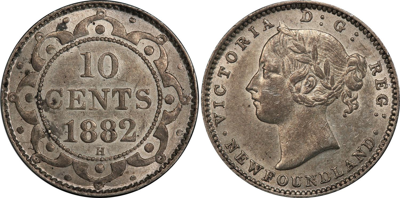 10 cents 1882 - Newfoundland