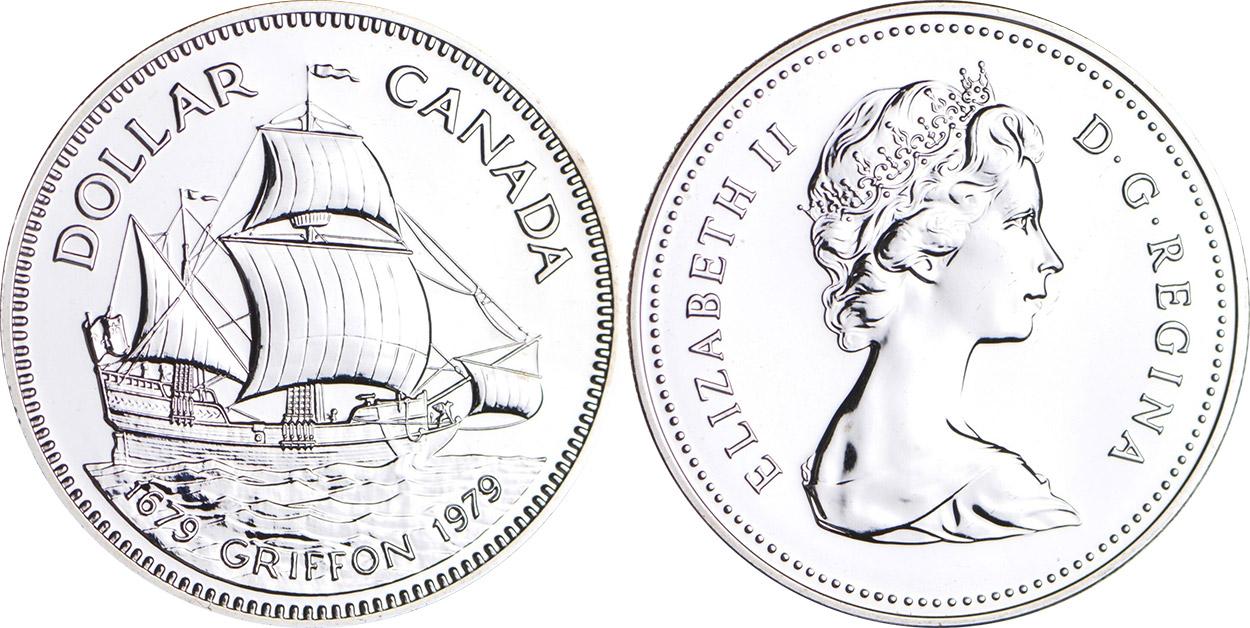 1679-1979 Canadian dollar Griffon